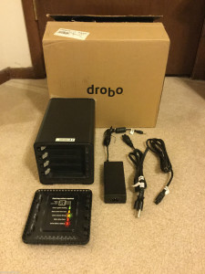 My 2nd generation Drobo (currently for sale on e-Bay).