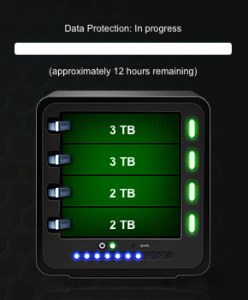 Spoiler: Drobo 3rd gen rebuilt in 12 hours what 2nd gen took 120 hours to do. (* Not 100% fair since I was moving a second 3TB drive in, but it's good enough for a reference point.)